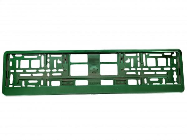 Intense Grün Hochglanz Metallic Kennzeichenhalter Nummernschildhalter Kennzeichenverstärker 520